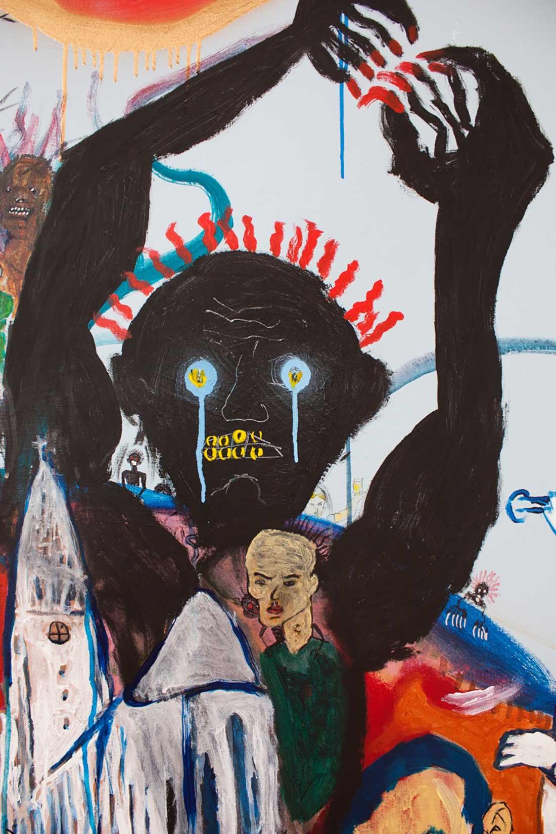 Úlfur Karlsson Artist - We are not afraid (detail)
